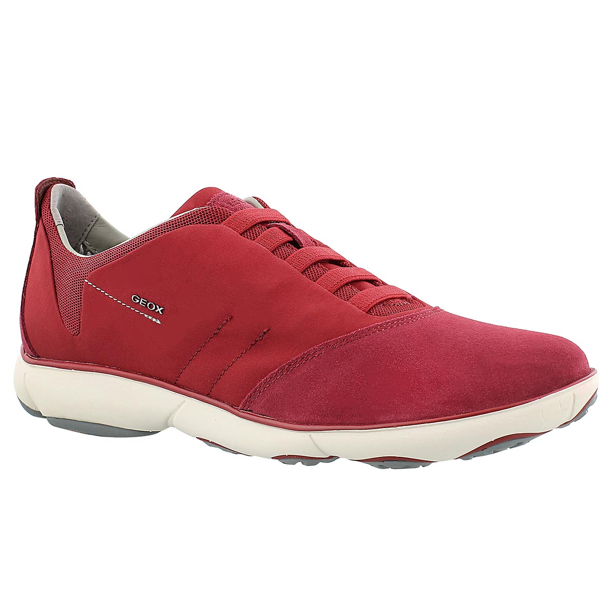 Men's NEBULA red lace up running shoes