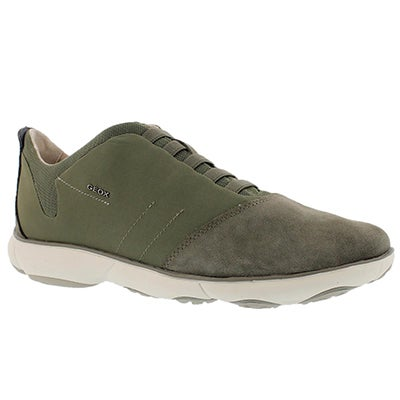 Geox Men's NEBULA sage lace up running shoes