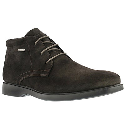 Geox Men's BRAYDEN 2FIT ABX coffee wtrprf chukka boots