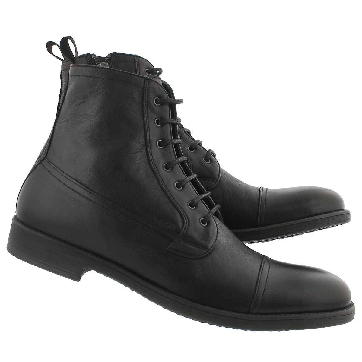 Mns Jaylon black lace up ankle boot