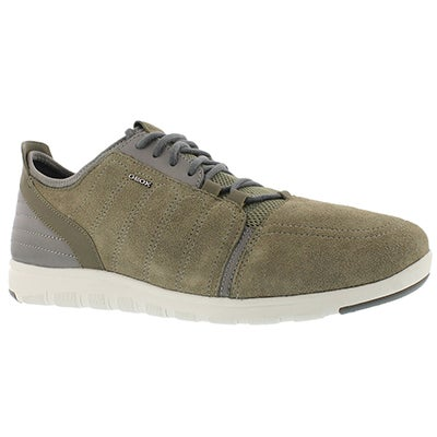 Geox Men's XUNDAY 2FIT sage/stone laceup sneakers