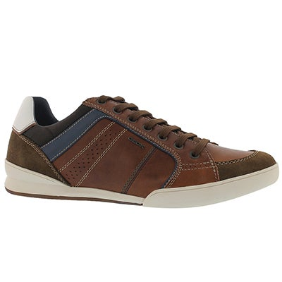 Mns Kristof brown lace up fashion snkr