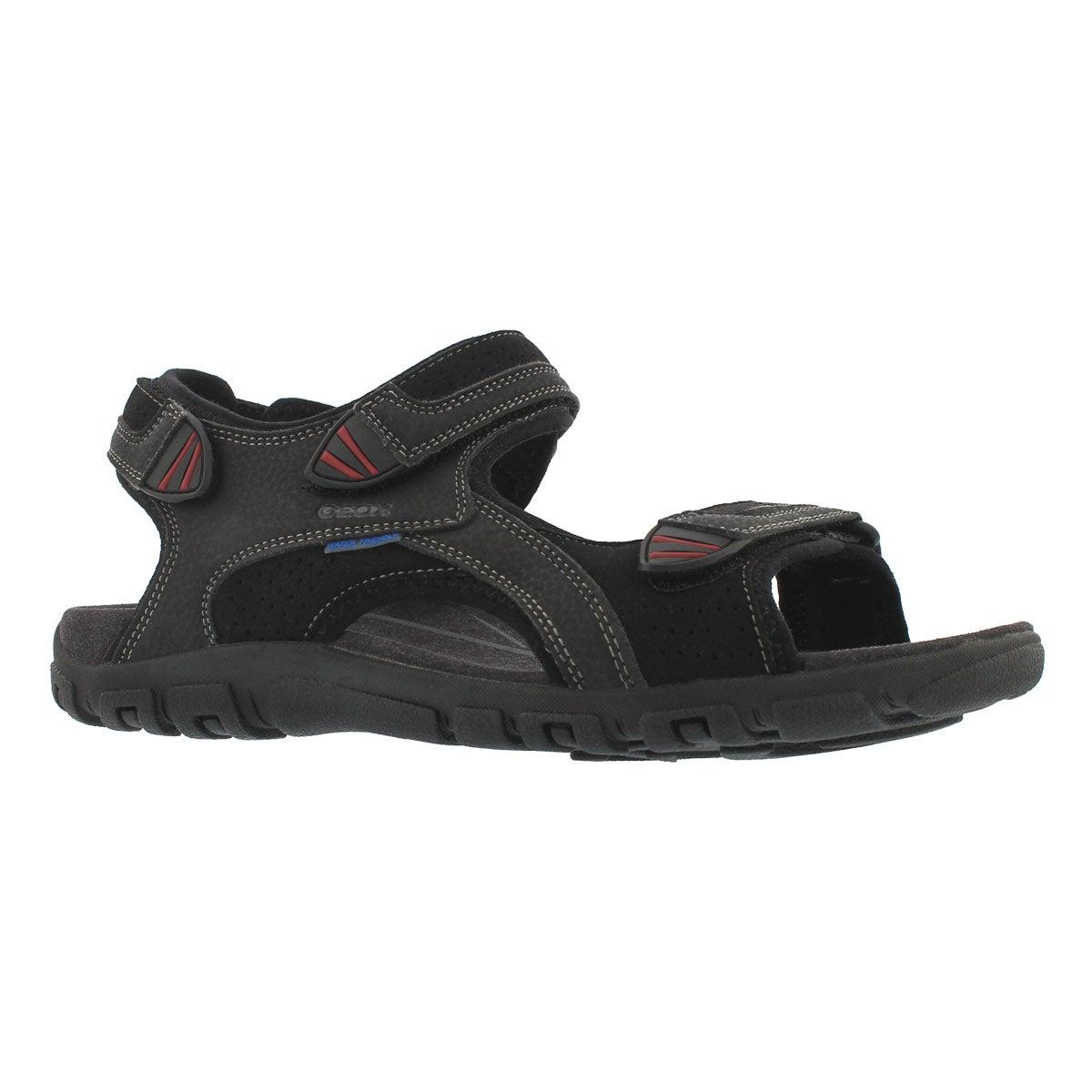Men's STRADA WF black sport sandal