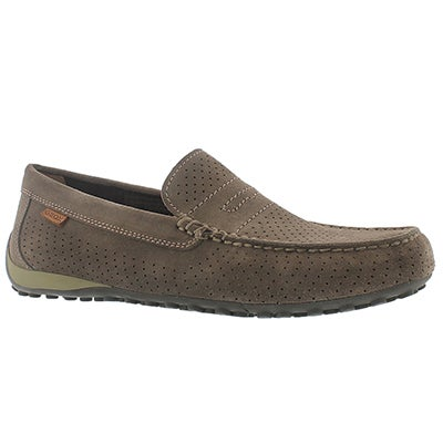 Mns Snake Moc 2Fit dove grey loafer