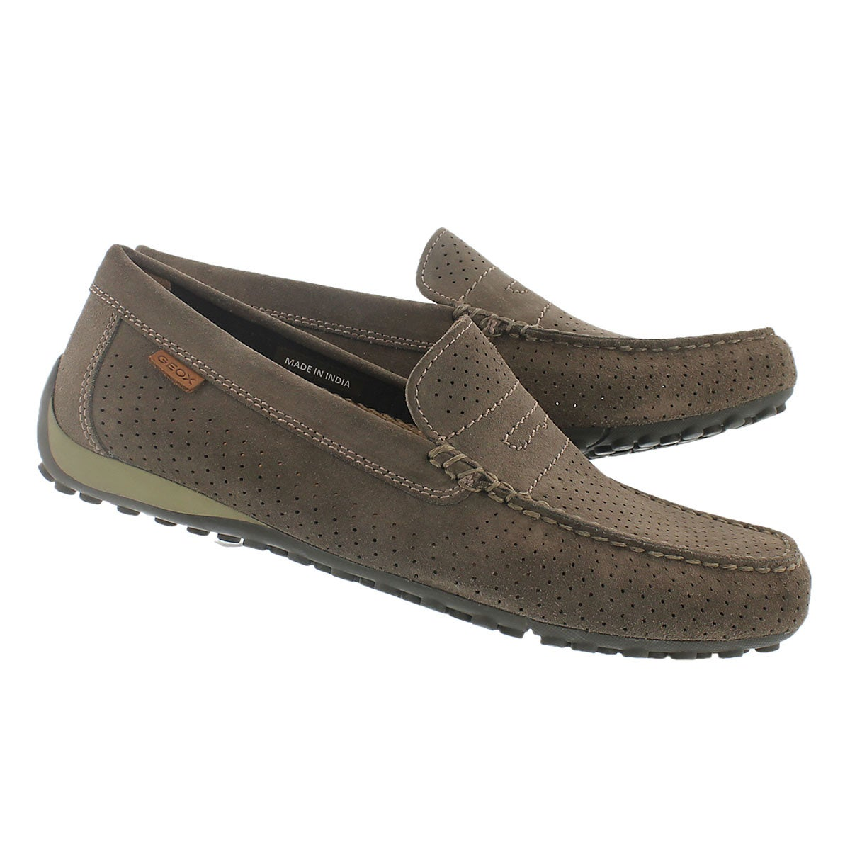 Mns Snake Moc 2Fit dove grey loafer