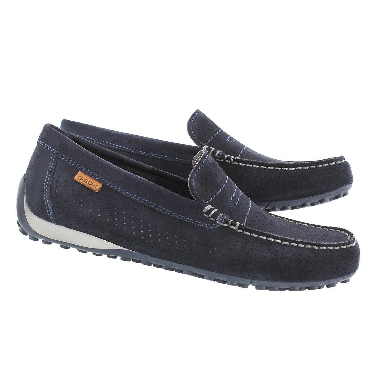 Mns Snake Moc 2Fit navy loafer
