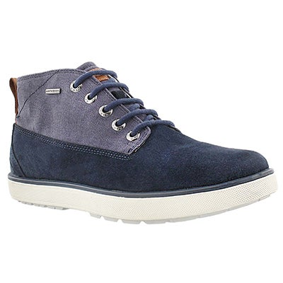 Mns Mattias ABX navy lace up boot