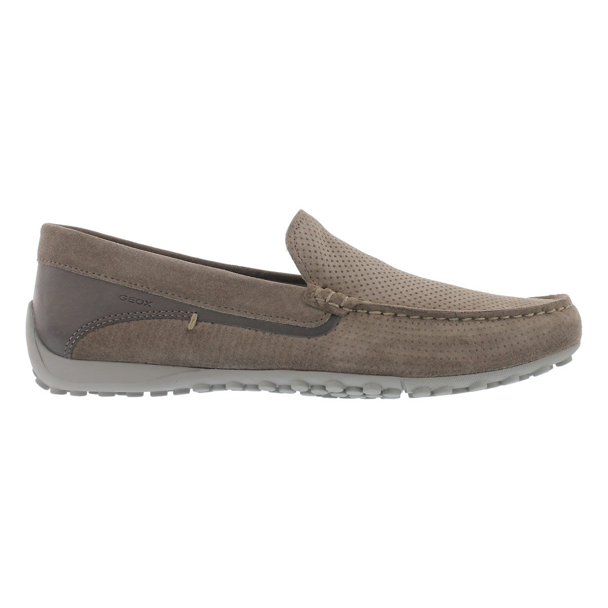Mns Snake Moc taupe/anthracite loafer