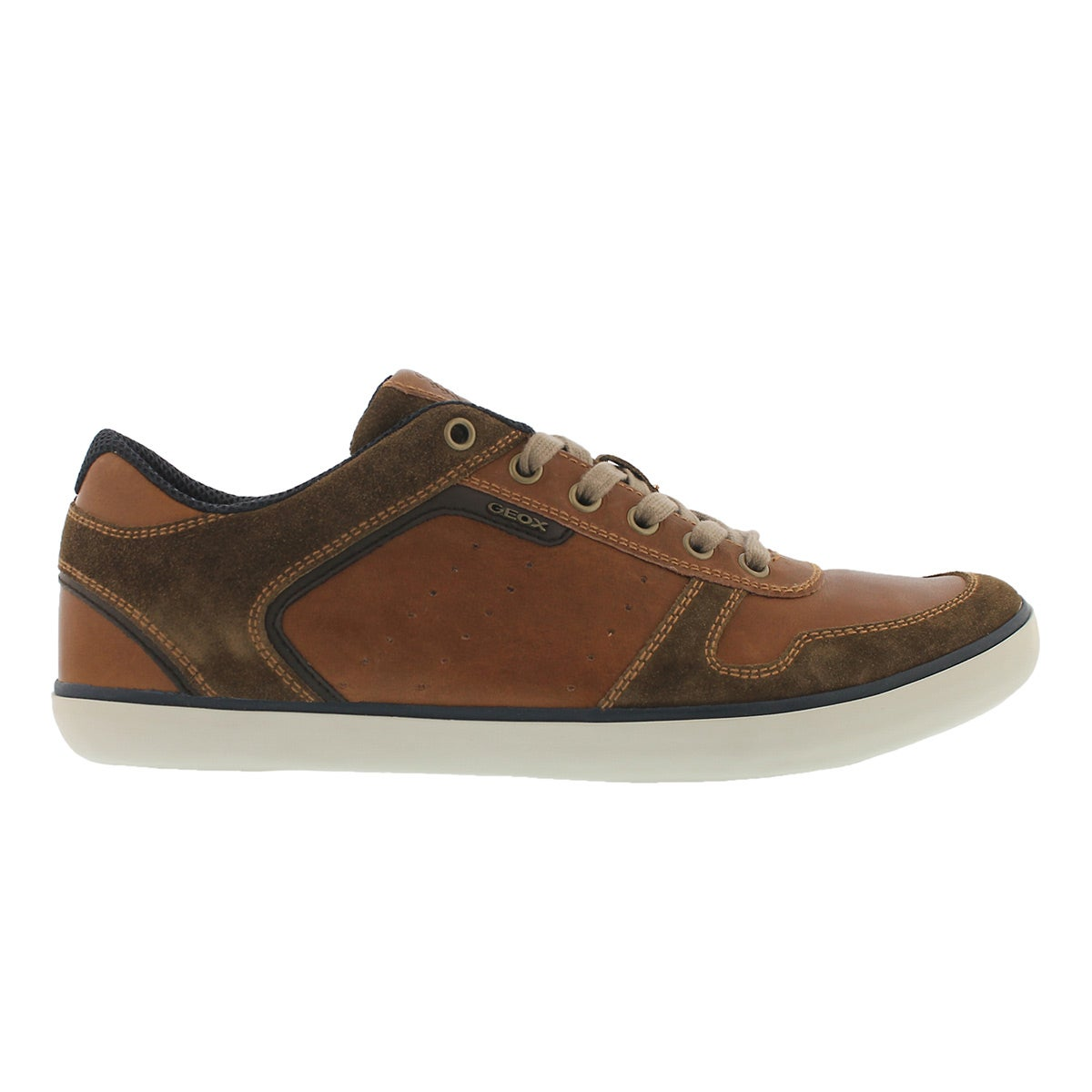 Mns Box brown lace up fashion snkr