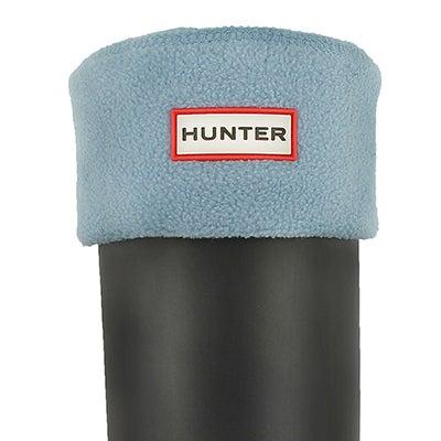 Hunter Chaussons BOOT SOCK, bleu ciel, femmes