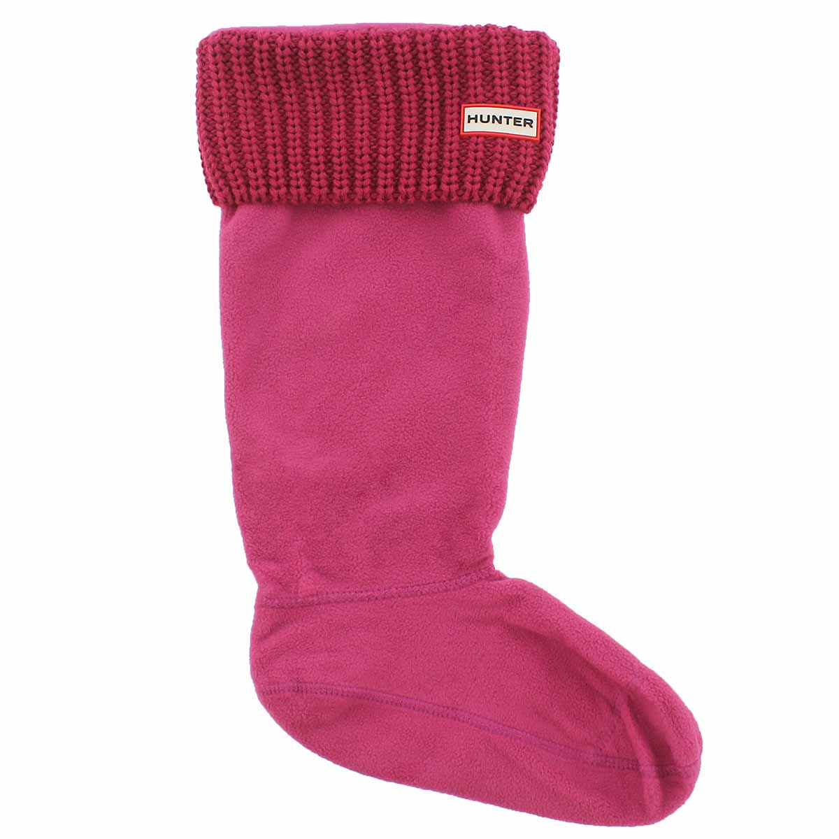 Lds Half Cardigan pink boot sock