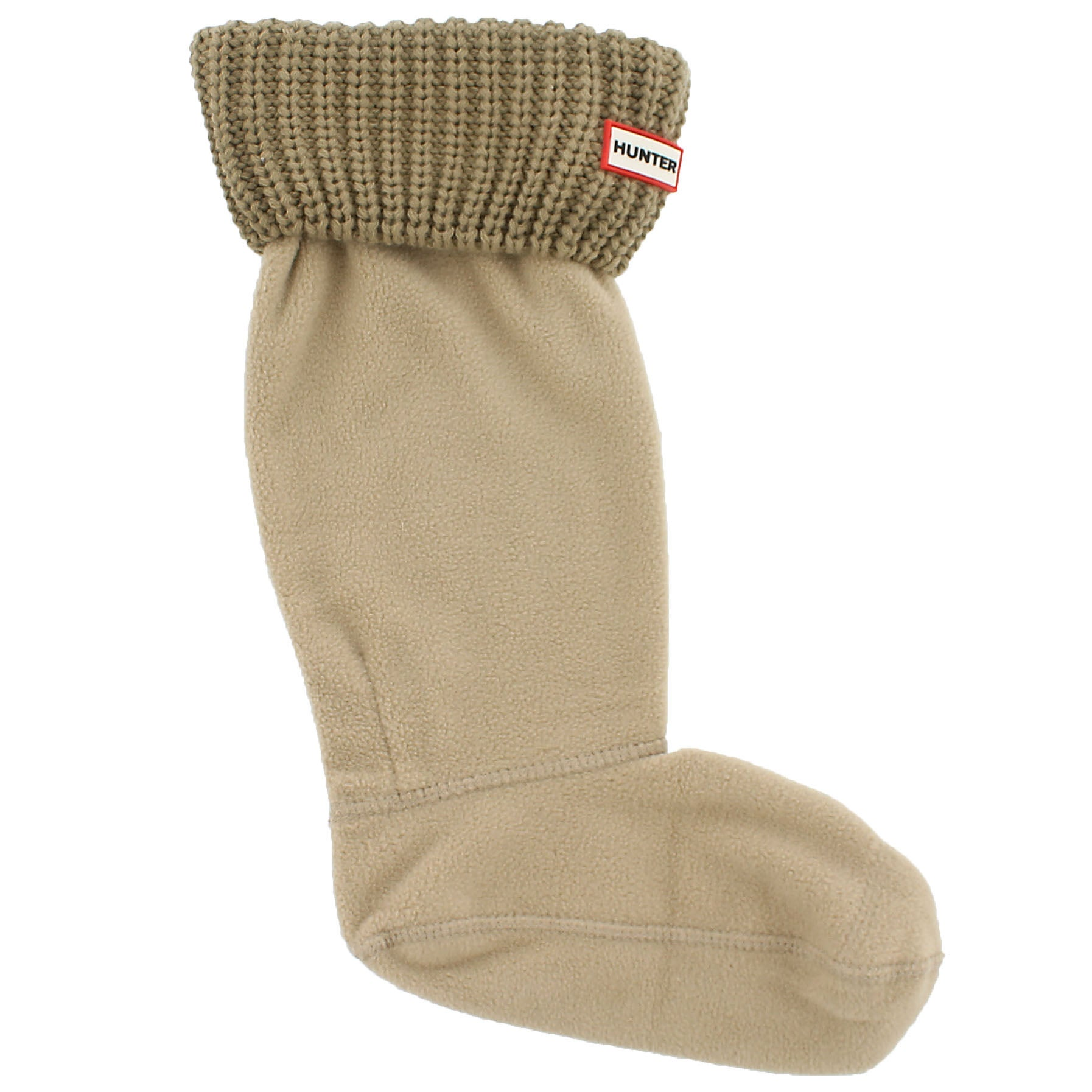 Lds Half Cardigan light sand boot sock