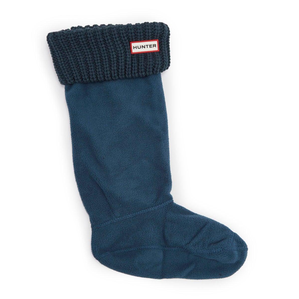 Lds Half Cardigan ocean boot sock