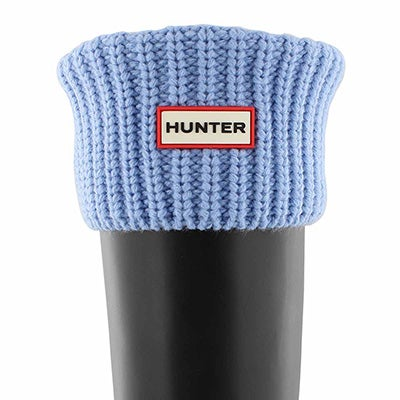 Lds Half Cardigan vivid blue boot sock