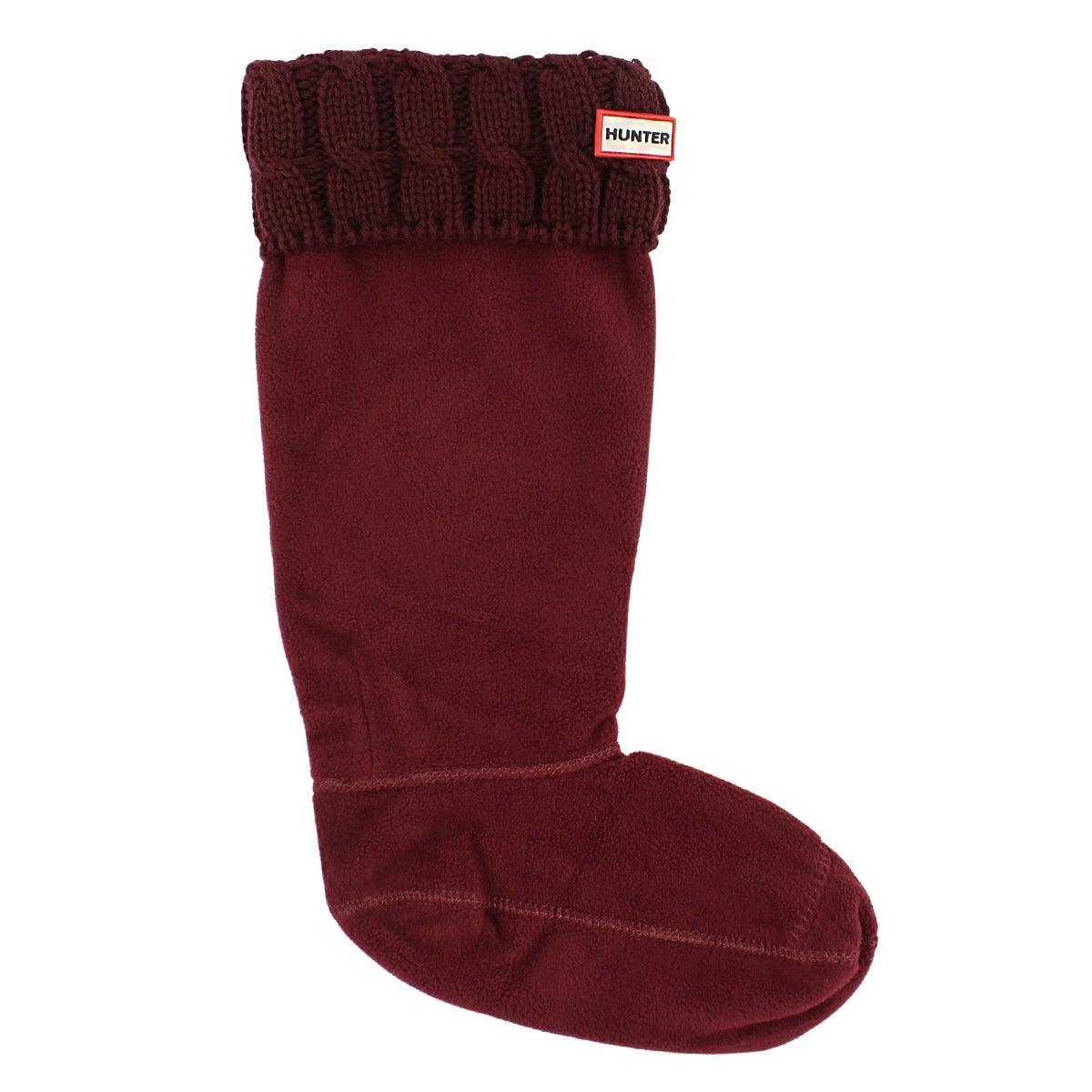Lds 6 Stitch Cable dulse boot sock