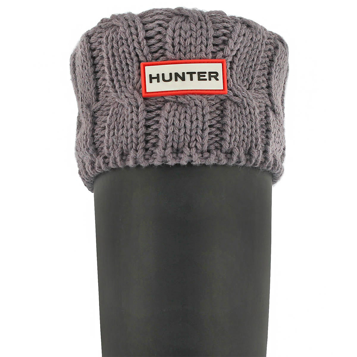 Lds 6 Stitch Cable thundercld boot sock