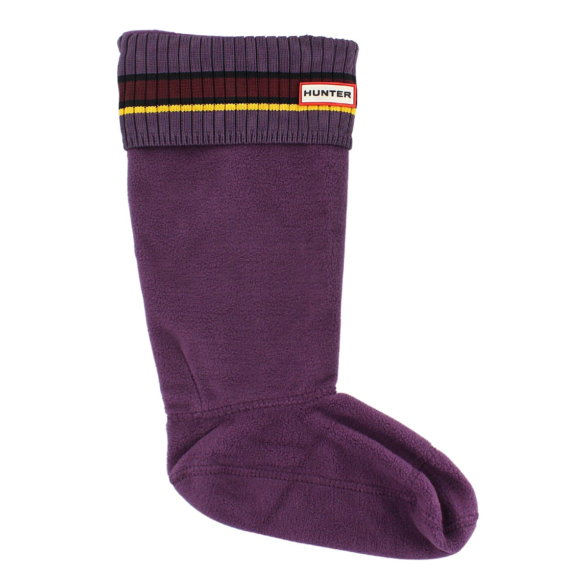 Lds Buoy Stripe ppl/red/yell boot sock