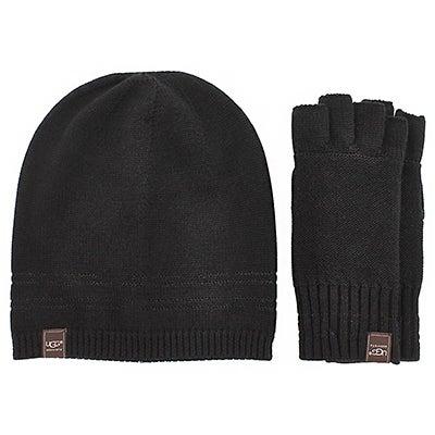 UGG Australia Women's UG1951 hat & glove box set - black