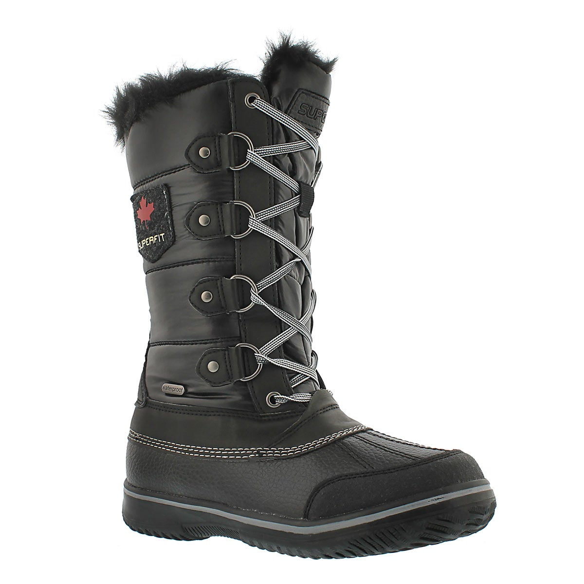 Lds Ulla blk wtrpf winter boot