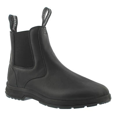 SoftMoc Women's ULURU black smooth chelsea boots