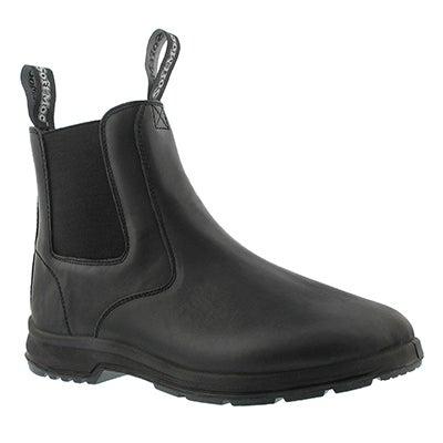 Mns Uluru black smooth chelsea boot
