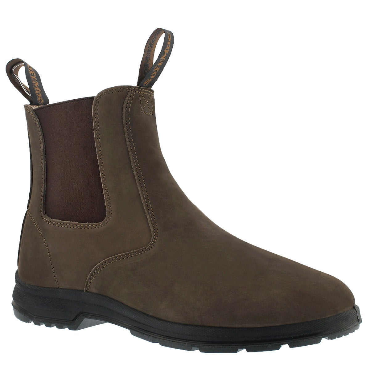 Women's ULURU brown chelsea boots