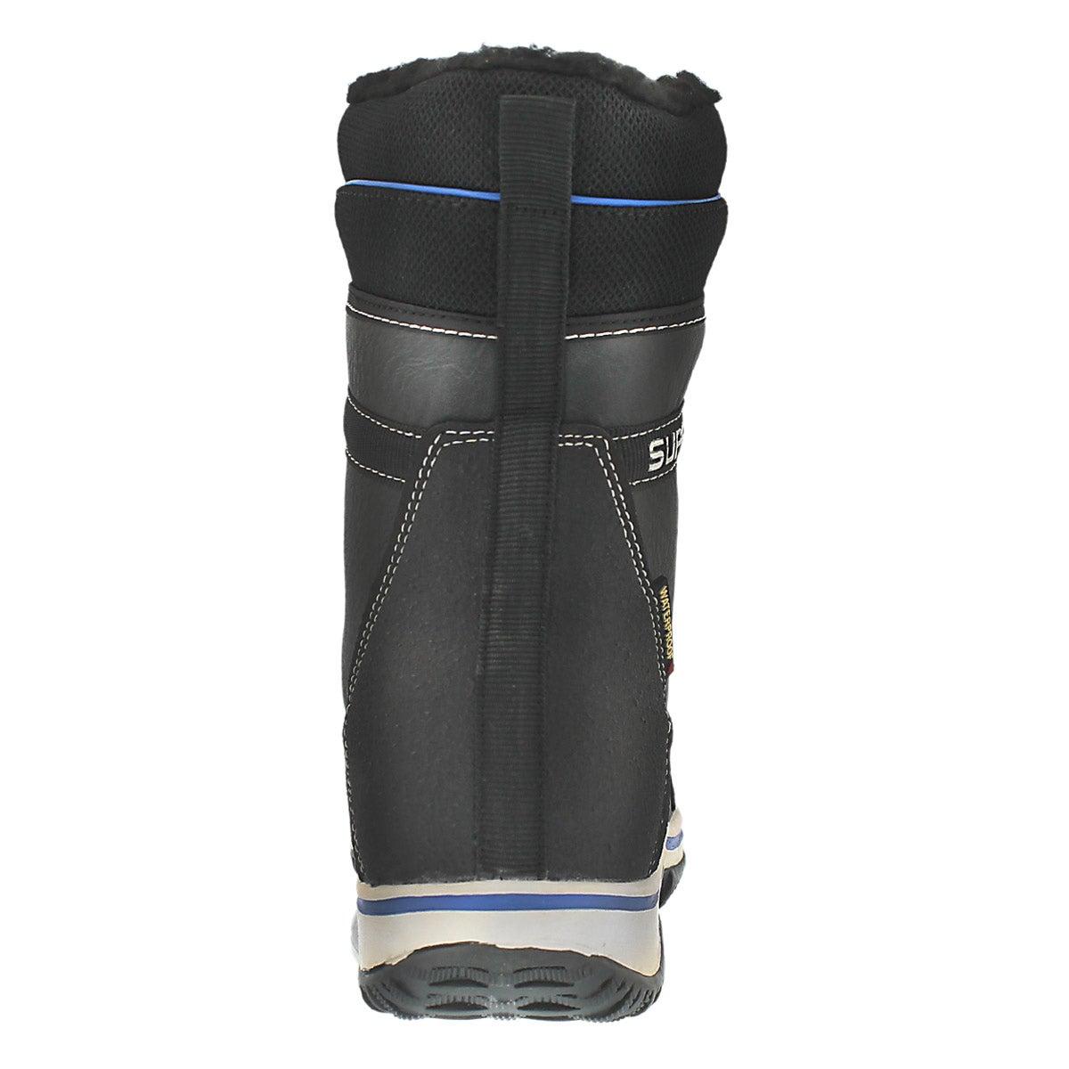 Bottes d'hiver Umber noir/char/bleu, gar