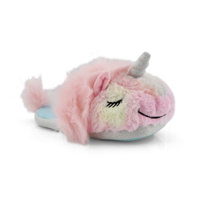 Infs-g Unicorn rainbow slipper bootie