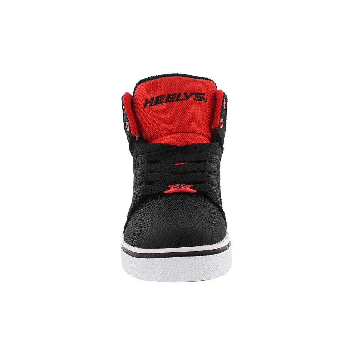Bys Uptown blk/red hi top skate sneaker