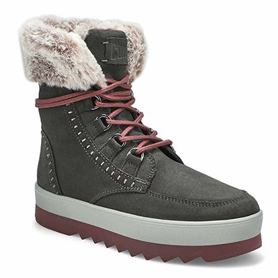 Lds Vanetta pew lace up wtpf winter boot