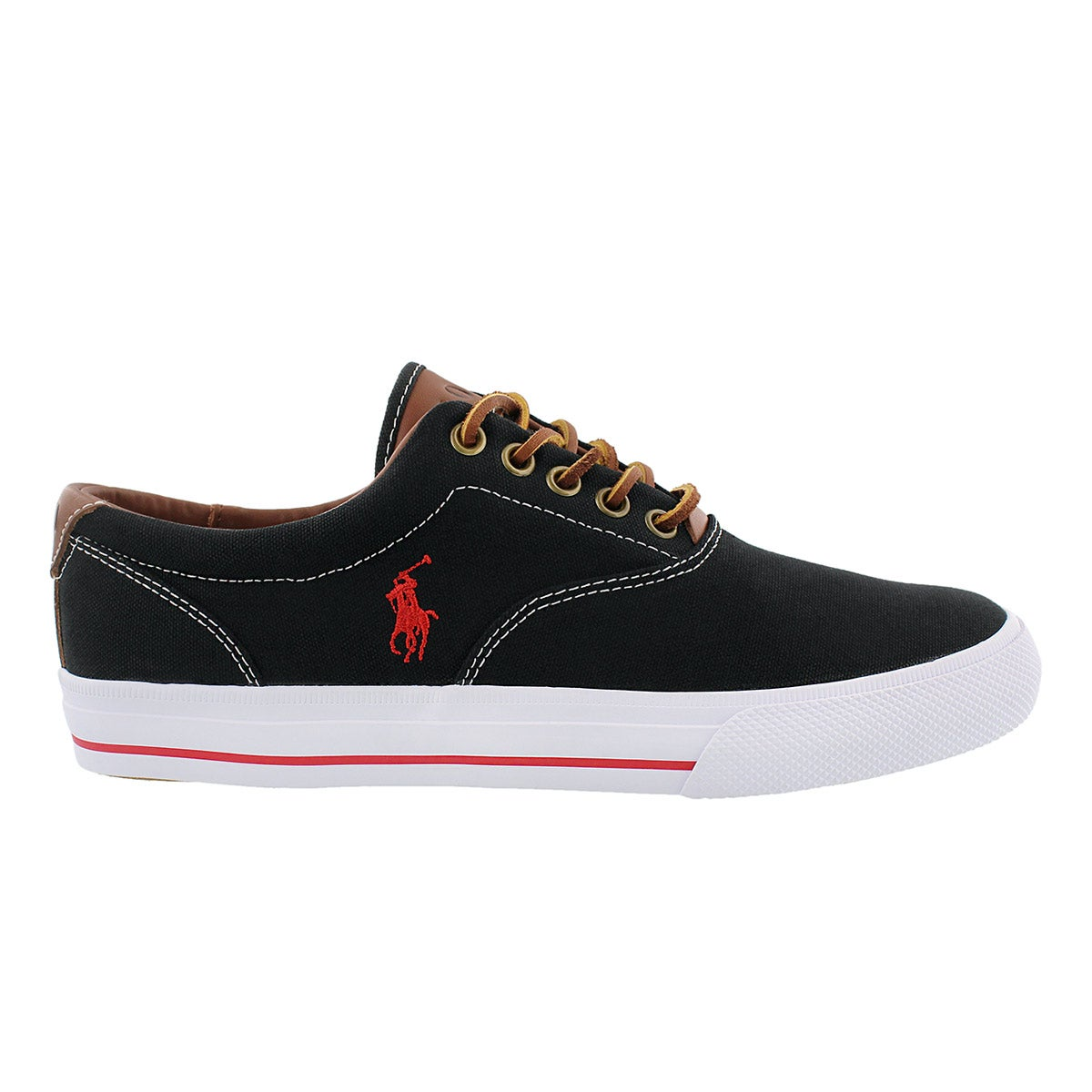 Mns Vaughn blk casual canvas sneaker