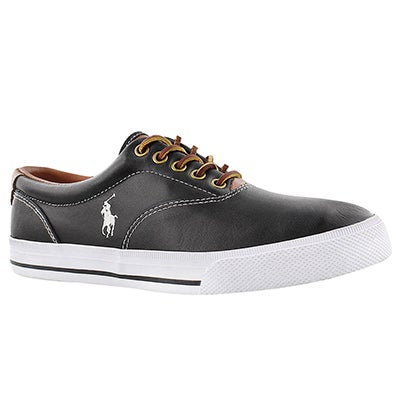 Polo Men's VAUGHN black leather CVO sneakers