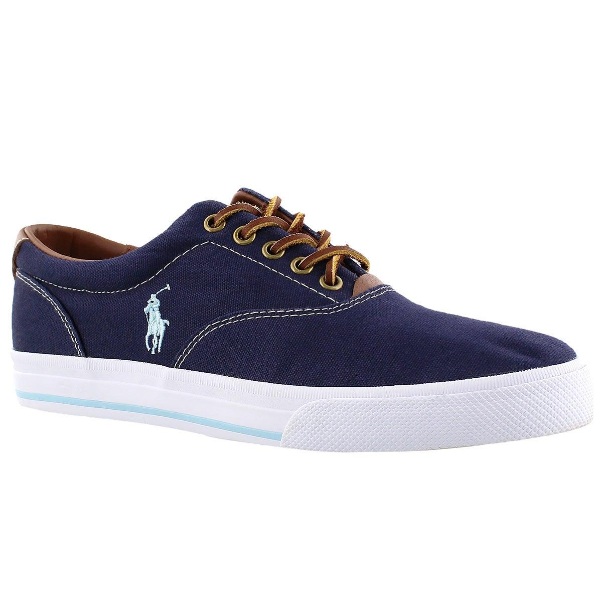 Men's VAUGHN navy canvas/leather CVO sneakers