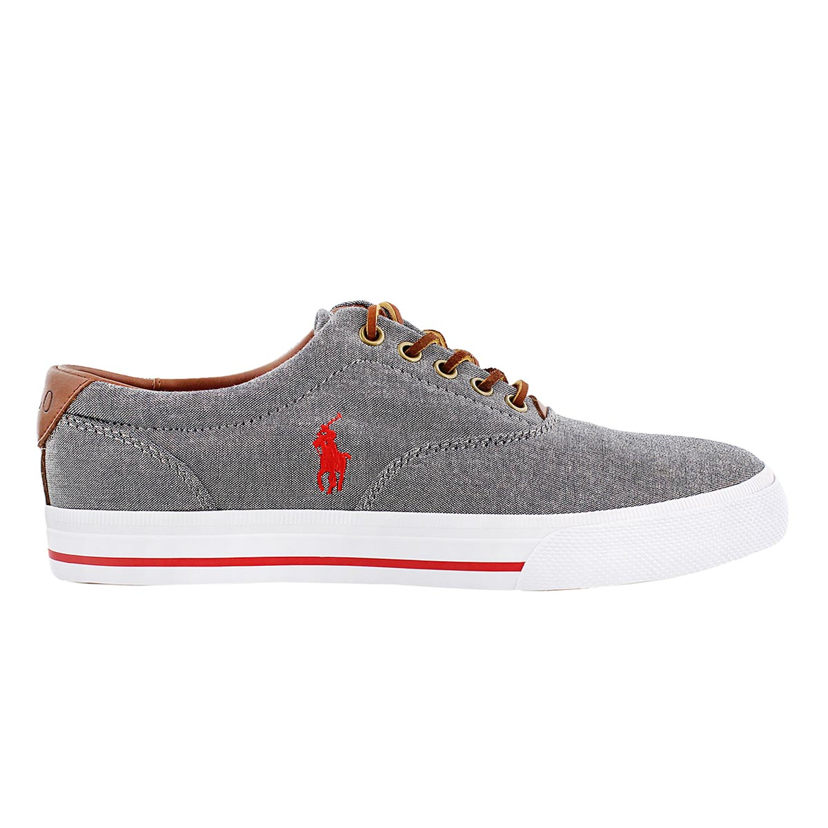 Mns Vaughn grey chambray/leather CVO