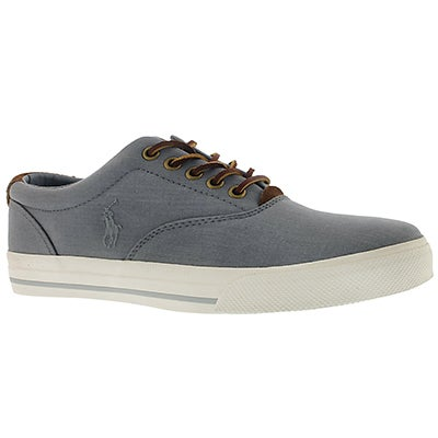 Polo Men's VAUGHN grey heather ripstop sneakers