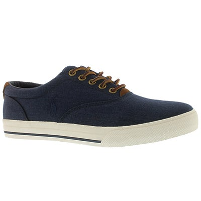 Polo Men's VAUGHN navy heather ripstop sneakers