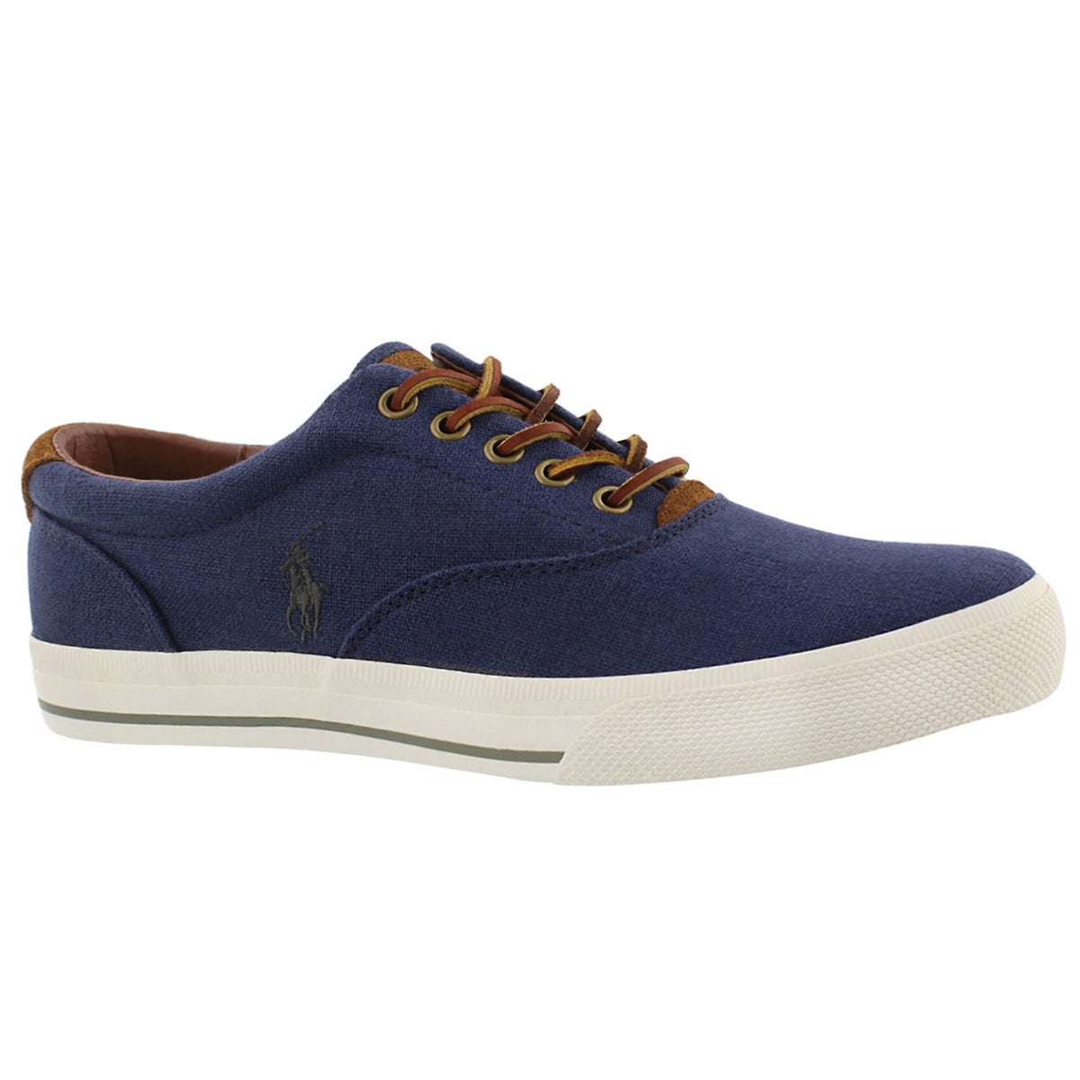 Men's VAUGHN navy linen fashion sneakers