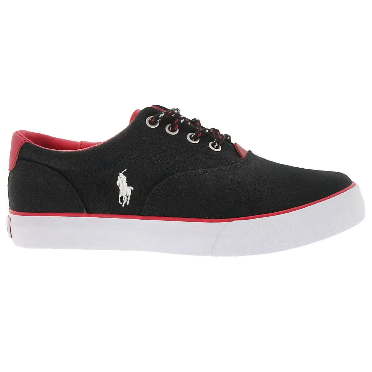 Bys Vaughn black lace up sneaker
