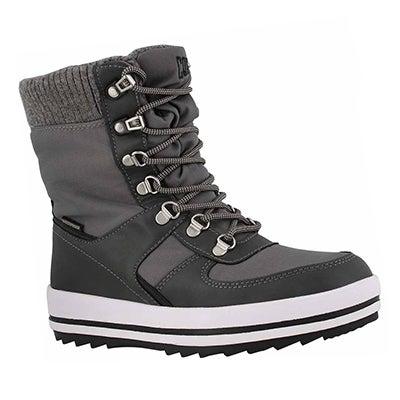 Lds Vergio gry wtpf lace up winter boot