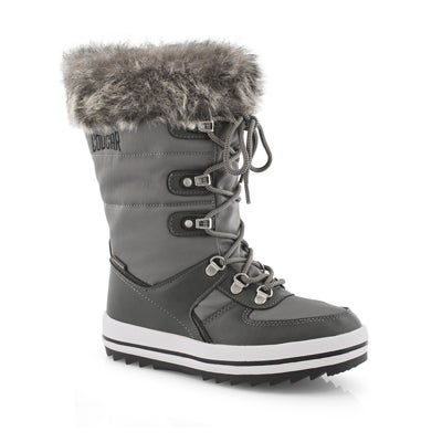 Grls Vesta G gry wtpf pullon winter boot