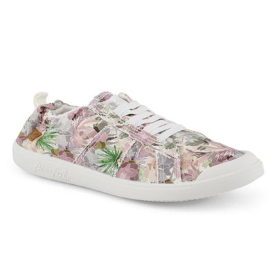 Lds Vex bloom print slip on fashion snkr
