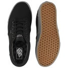 Mns Atwood blk/gry canvas laceup sneaker