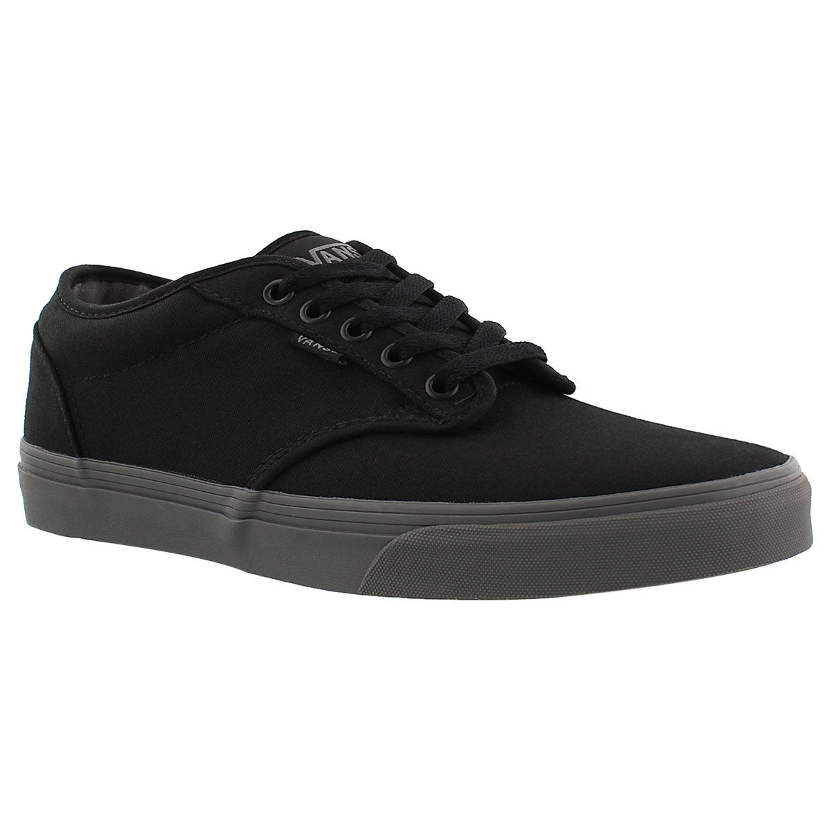 Men's ATWOOD black/grey canvas lace up sneakers