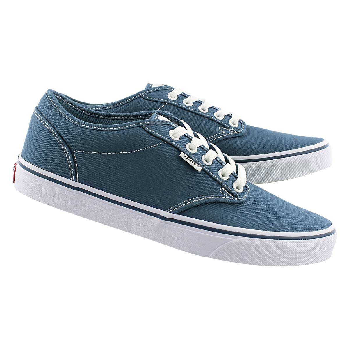 Mns Atwood blue canvas laceup sneaker