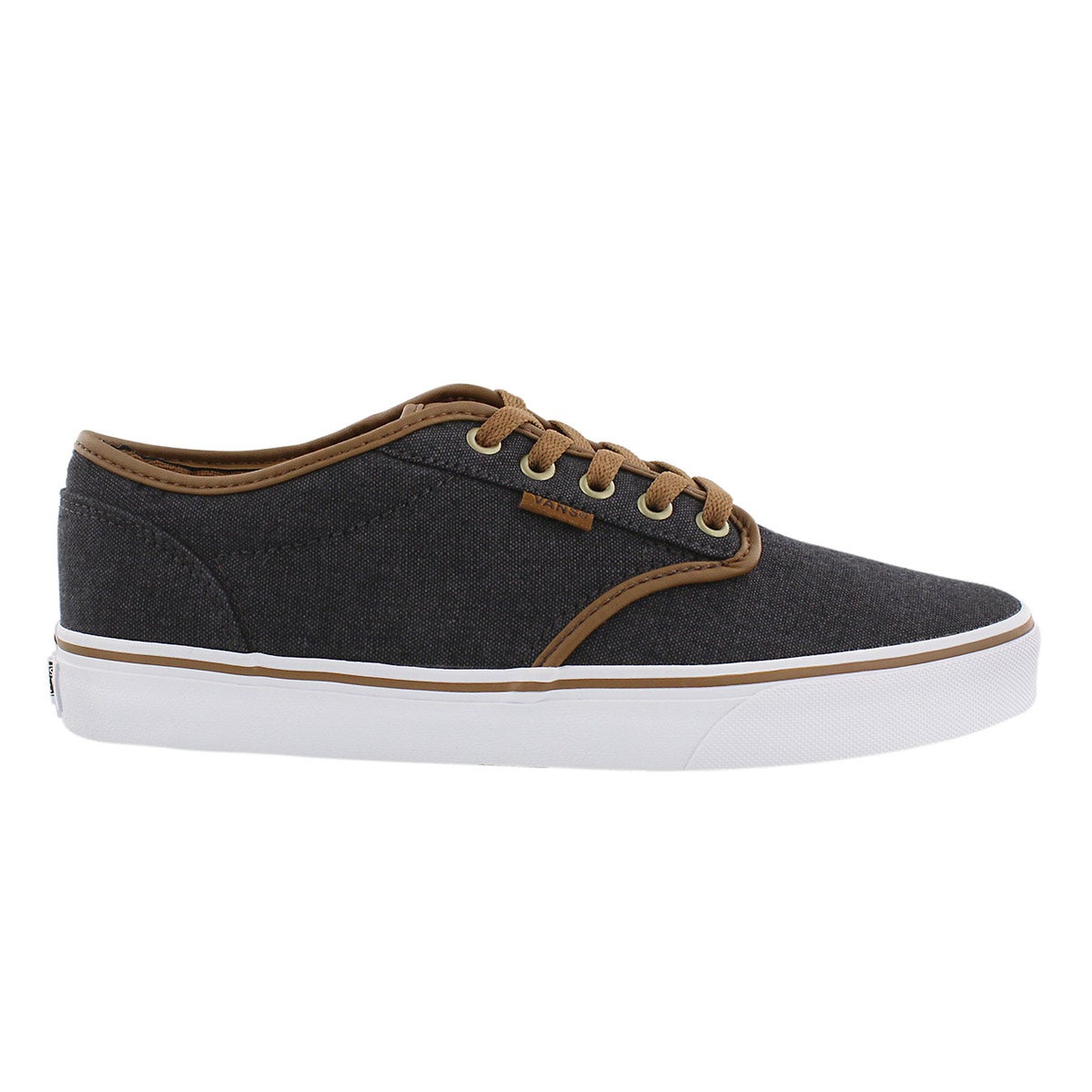 Mns Atwood blk/brown laceup sneaker