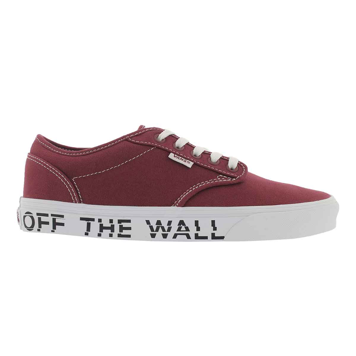 Mns Atwood printed fox oxbld/wht sneaker