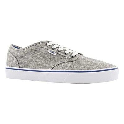 Mns Atwood grey/wht sneaker