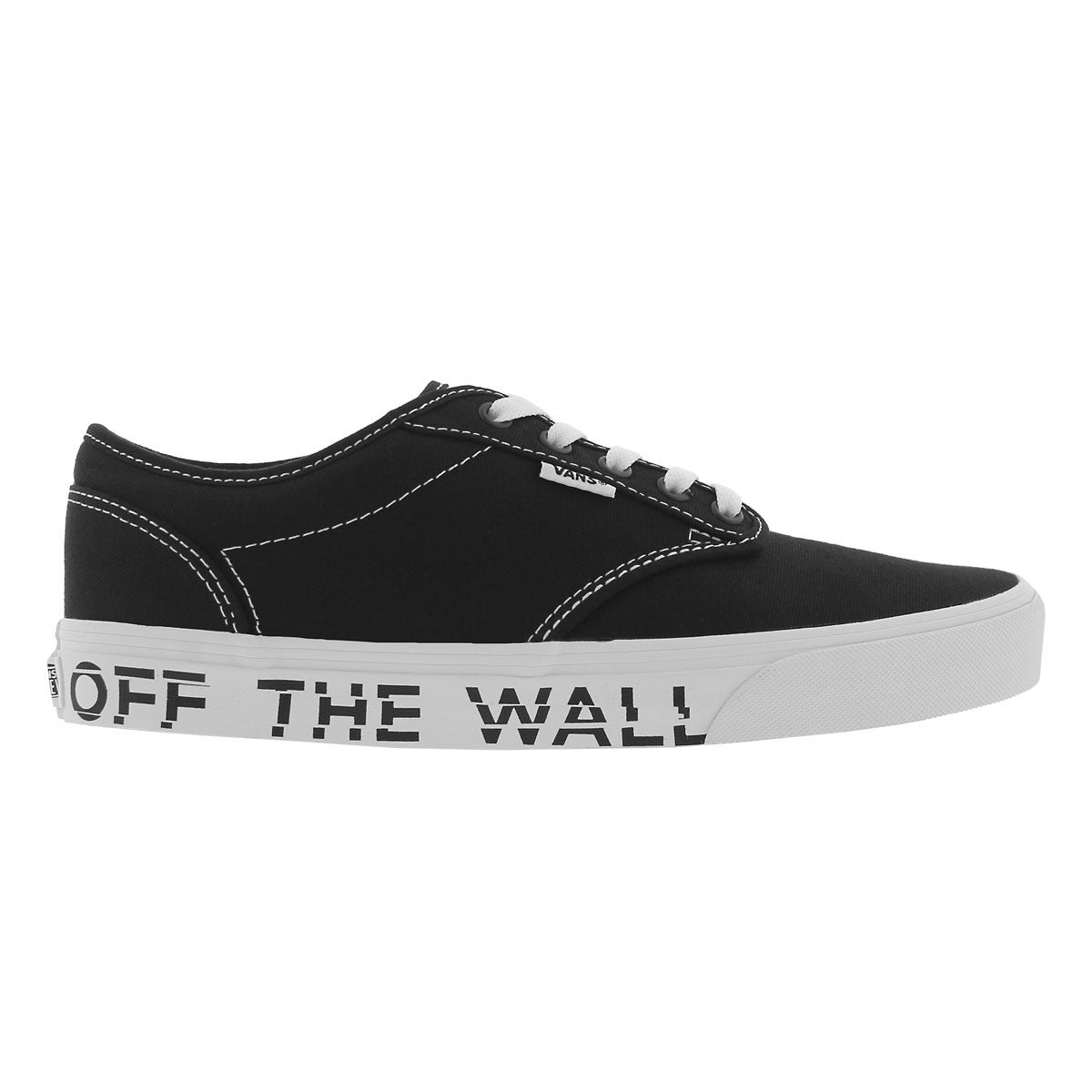 Mns Atwood printed fox blk/wht sneaker