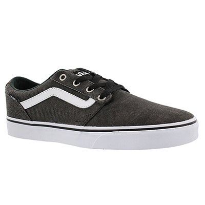 Vans Men's CHAMPMAN strip black/white sneaker
