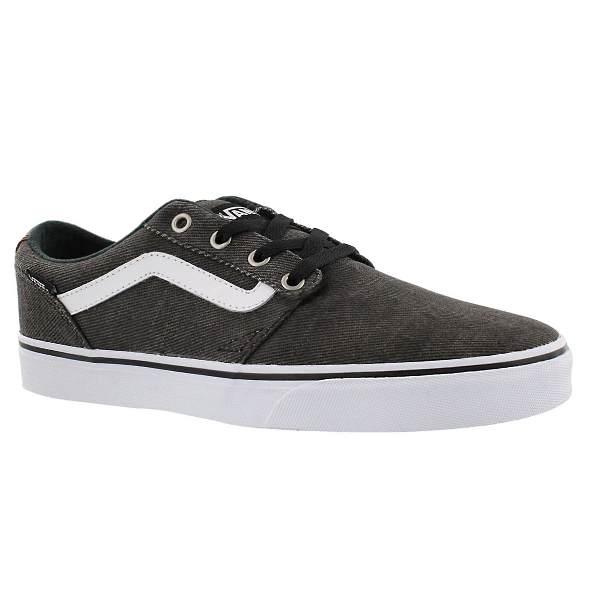 vans 39 men 39 s chapman stripe lace up sneaker ebay. Black Bedroom Furniture Sets. Home Design Ideas